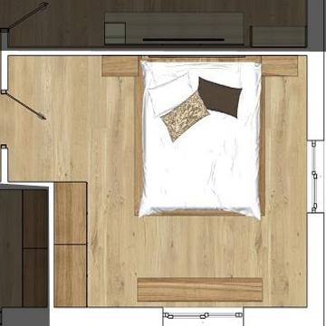 Spálňa, pracovňa, detská izba