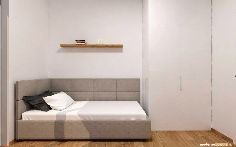 Dizajn interiéru - moderný 3i byt Nová Koliba