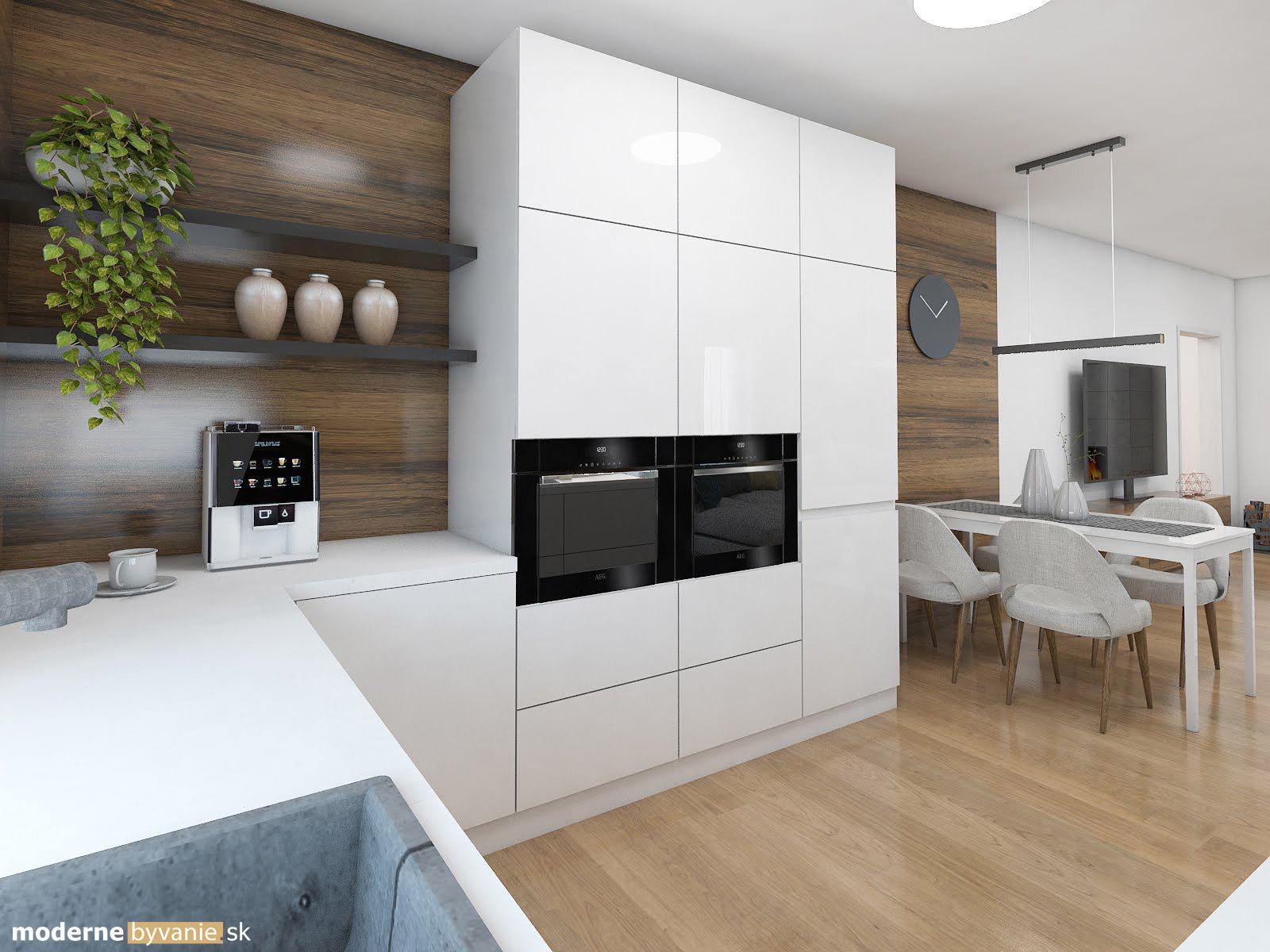 Návrh interiéru - Kuchyňa - Elegantný nadčasový interiér
