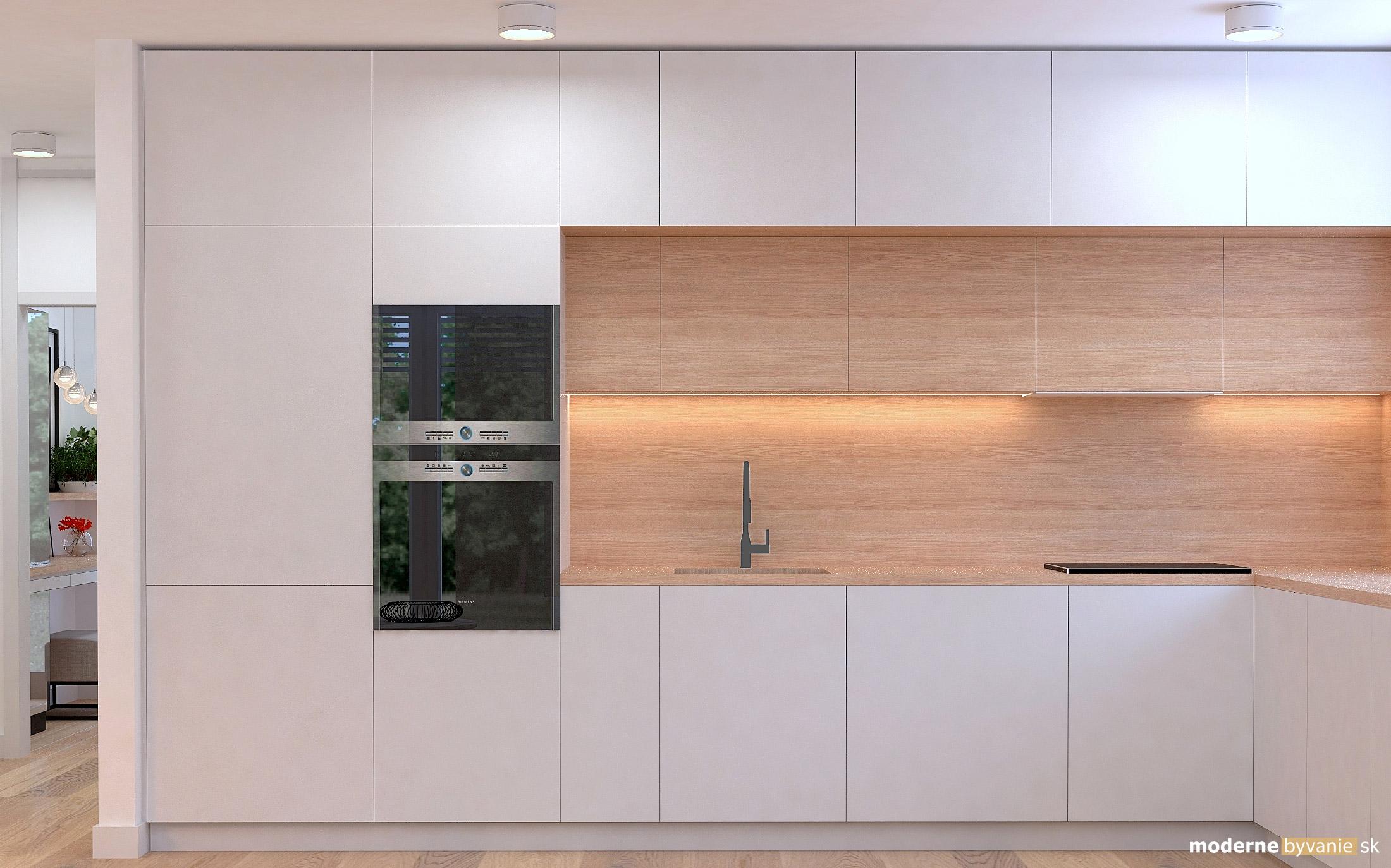 Návrh interiéru - Kuchyňa - Príjemný škandinávsky dizajn