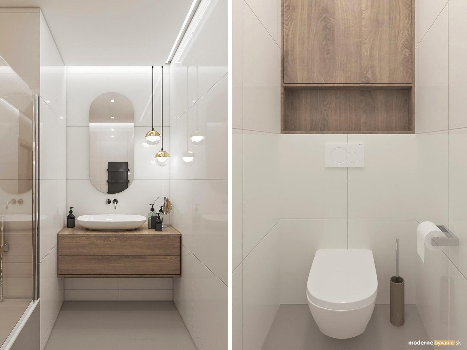 Návrh interiéru 3i byt Ruzinov