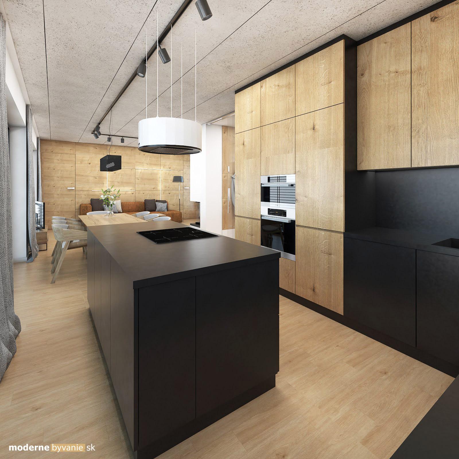 Návrh interiéru - Kuchyňa - Dizajn interiéru domu v Tatrách