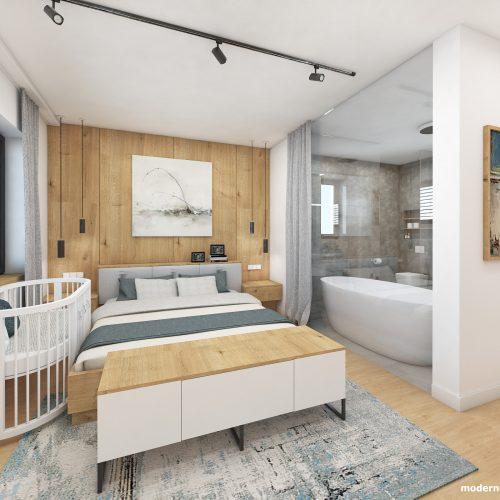 Návrh interiéru - Spálňa - Dizajn interiéru domu v Tatrách