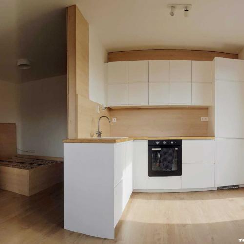 Návrh interiéru - Kuchyňa - Vytvorenie hosťovskej izby v byte