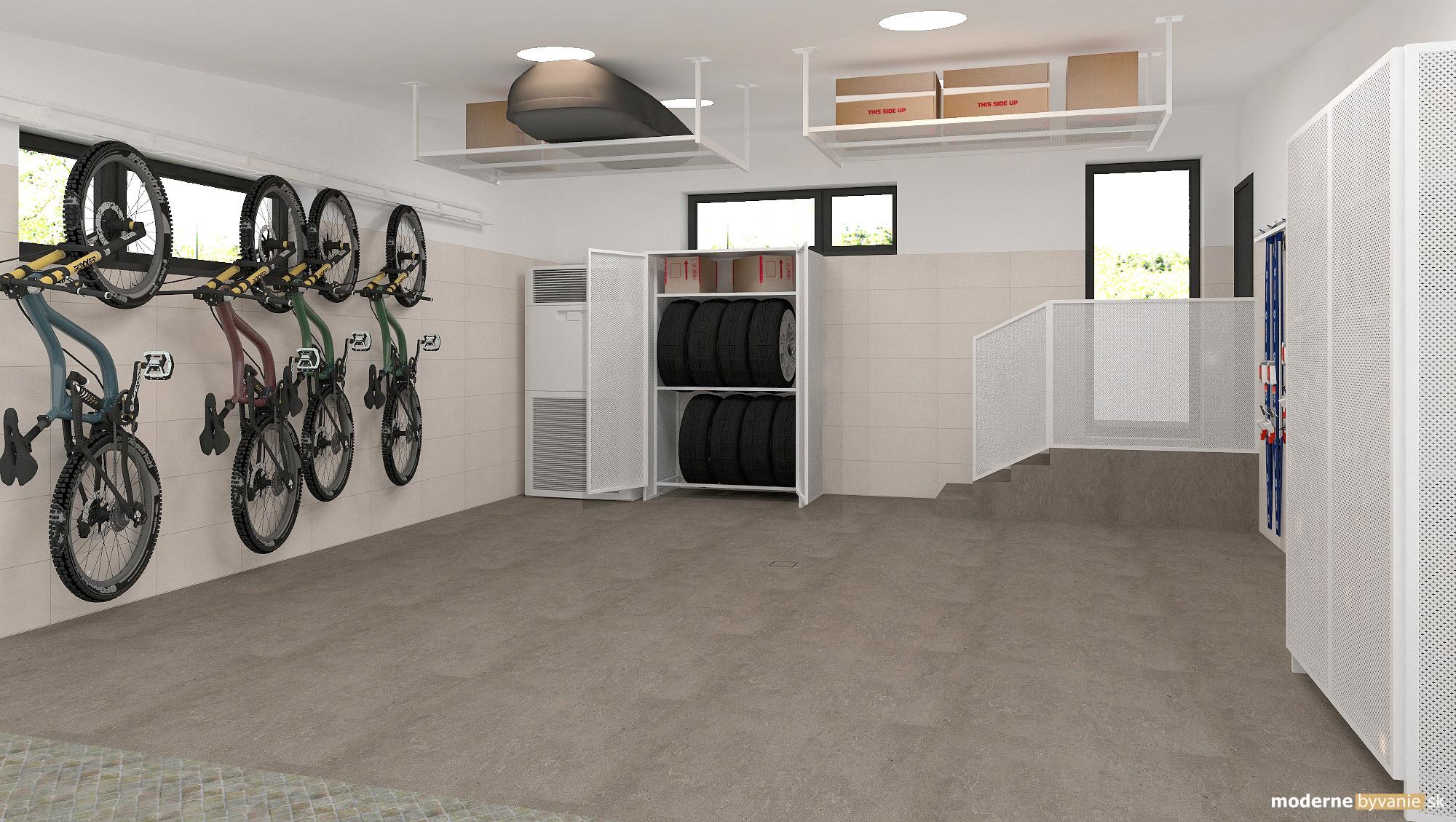 Návrh interiéru - Garáž - Dobrý interiérový architekt aj záhradný domček navrhne